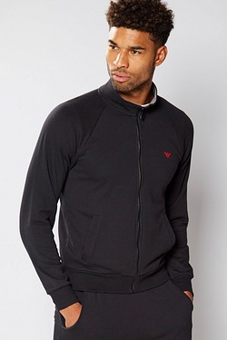 Emporio Armani Zip Through Sweat