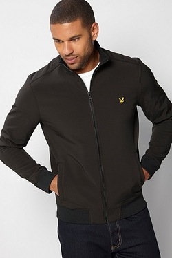 Lyle and Scott Zip Through Funnel Jacket