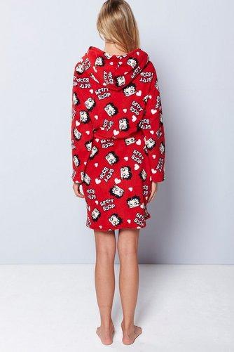 Betty Boop in an Earthy Dress