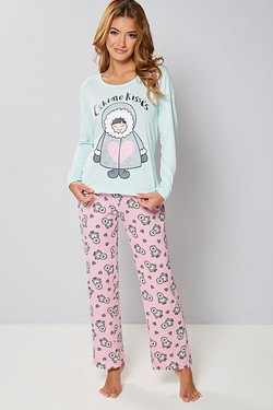 Eskimo Long Sleeve Pyjamas