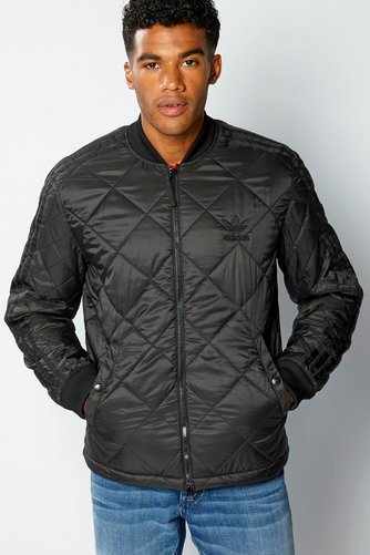 Adidas Originals Quilted Superstar Bomber Jacket Studio