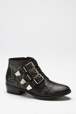 Be You Studded Flat Boot