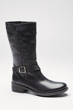 Be You ¾ Leather Buckle Boot