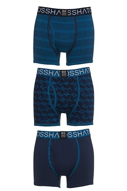 Crosshatch Pack of 3 Boxers