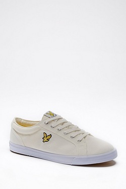 Lyle and Scott Halkett Canvas Lace Up Trainers