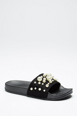 Be You Pearl Slider Sandal