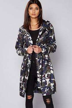 Be You Camo Lightweight Jacket