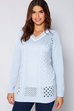 Be You Cricket Pointelle Jumper