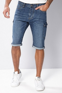 Firetrap Denim Cargo Short