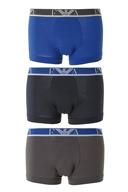 Emporio Armani Pack Of 3 Colourband Boxers