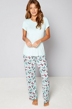 Short Sleeve Butterfly Pyjamas
