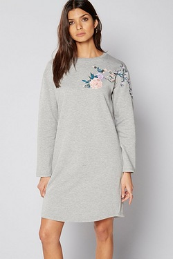 Be You Floral Embroidered Tunic