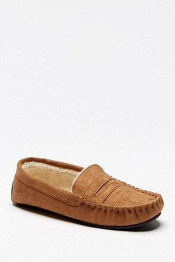 Fur Lined Moccasin