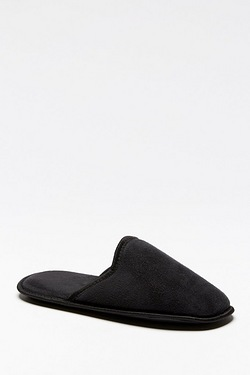 Plain Slip-On Mule Slippers