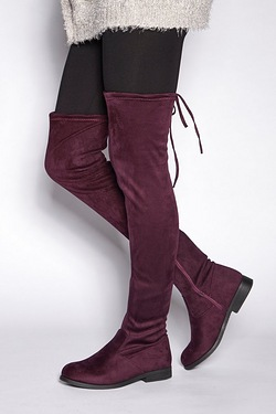 Be You Over The Knee Pull On Boot