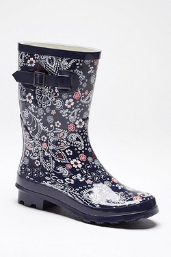 Be You Short Welly - Floral