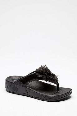 dda9e192abf202 Moulded Toe Post Flower Sandals