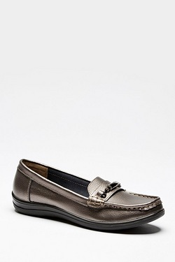 Be You Leather Moccasin Slip On