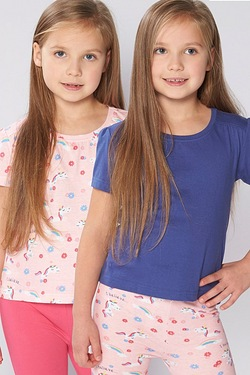 Girls Pack Of 2 Tops