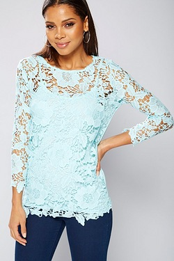 Club L Crochet Top