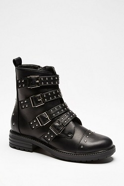 Be You Studded Biker Boot