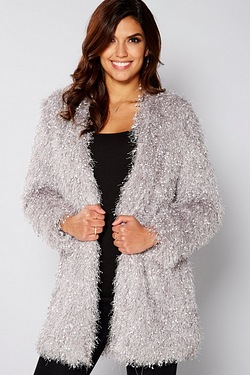 Be You Fluffy Cardigan