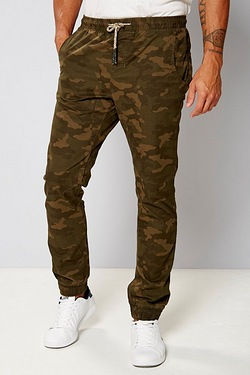 Twisted Gorilla Camo Cuffed Trouser