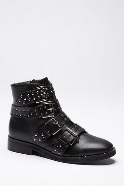 Be You All Over Studded Boot