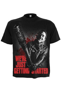 Negan Just Getting Started Walking Dead T-Shirt