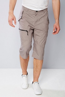 Twisted Gorilla ¾ Zip Pocket Short