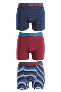 Original Penguin Pack Of 3 Boxers