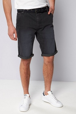 Pierre Cardin Web Belt Denim Short