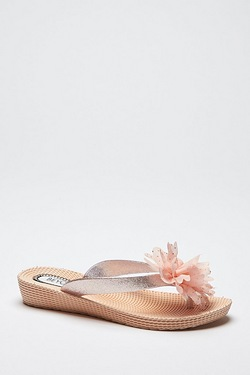 Be You Toe Post Flower Sandal
