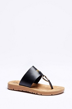 Be You Flex Comfort Toe Post Mule