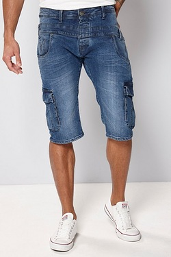 883 Police Denim Shorts