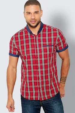 Harper and Leyland Contrast Check Shirt