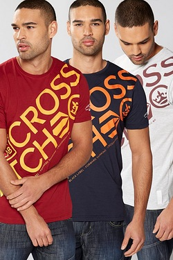Crosshatch Pack Of 3 T-shirts