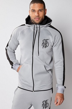 DFND London Zip Through Hoody