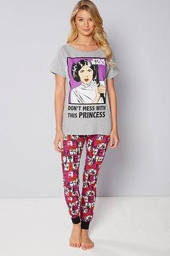 9b46716242 Star Wars Princess Pyjamas