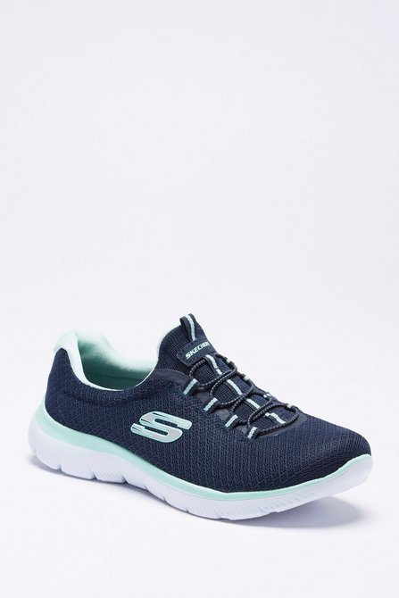 d65d021cc611 Image for Skechers Summits Mesh Bungee Lace Trainers from studio