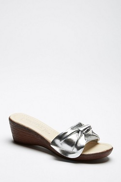 Be You Knot Front Mule Sandal