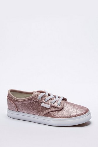 Image for Girls Vans Atwood Low Glitter Trainer from studio 43c9915a48