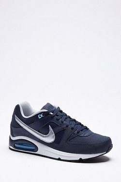 Nike Air Max Command Leather Metallic Trainers