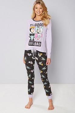 562b9d9b51 Disney Good Bad Villain Pyjamas