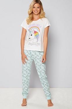 d2a6667ab1 Emoji Unicorn Pyjamas