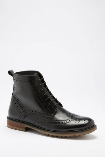 cc2ee9755dc Leather Brogue Boots