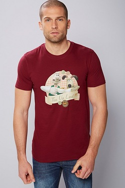 Wallace and Gromit Tea Up Lad T-Shirt