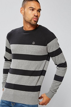 Duck and Cover Stripe Knit