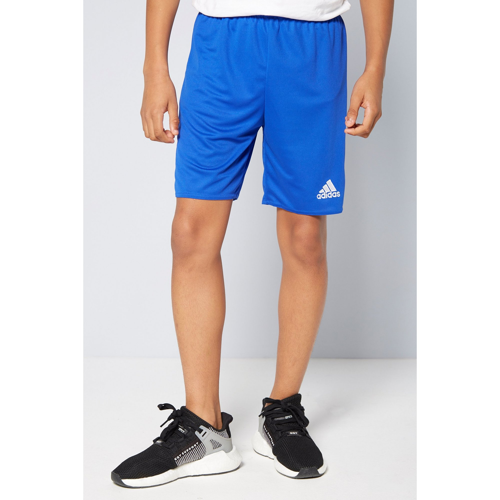 Image of Boys adidas Blue Parma Shorts