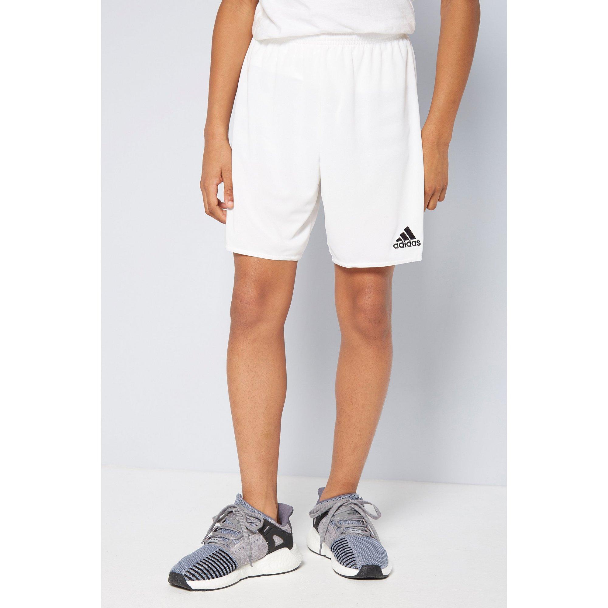 Image of Boys adidas White Parma Shorts